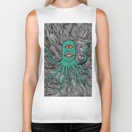 Cephalopoid Visitor Biker Tank