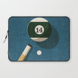 BILLIARDS / Ball 14 Laptop Sleeve