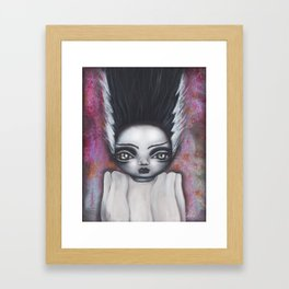 Here comes the Bride Framed Art Print