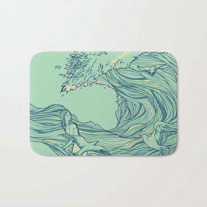Ocean Breath Bath Mat