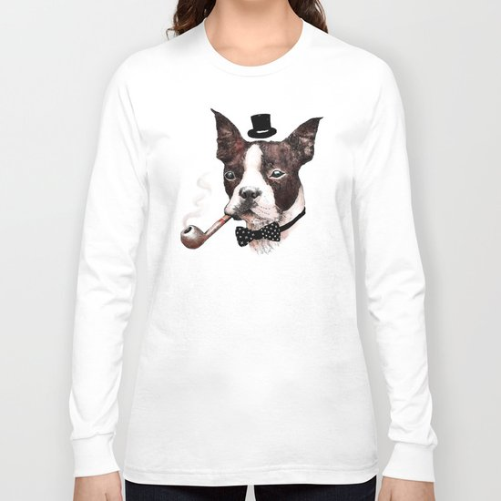 Mr. Bulldog Long Sleeve T-shirt