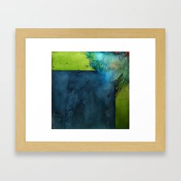 Damage Framed Art Print