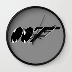 Mr. F (b) Wall Clock