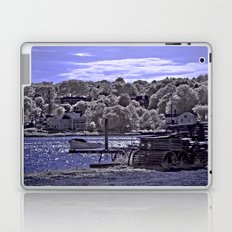 Afternoon Sun at Mystic Seaport Laptop & iPad Skin