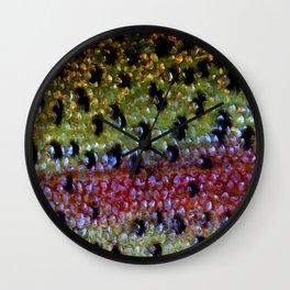 Beautiful Skin, Rainbow Bronze Wall Clock