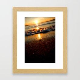 life's a beach  Framed Art Print