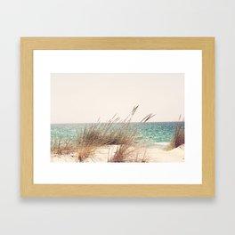 Cozy day Framed Art Print