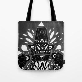 techno ghost Tote Bag