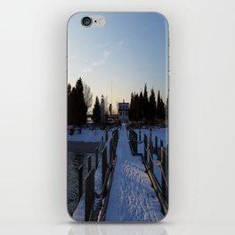 Ocean Snow iPhone Skin