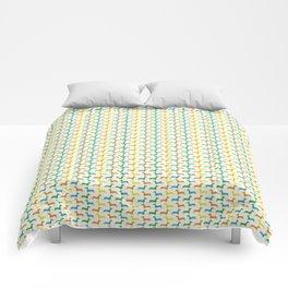 many dachshunds Comforters