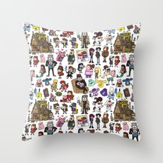 Cute Gravity Falls Doodle  Throw Pillow