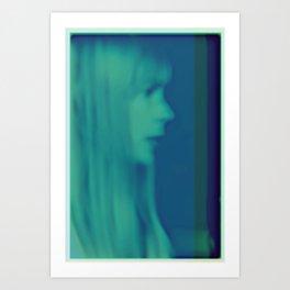 joni mitchell - blue Art Print