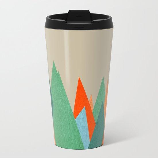Abstract/G. Metal Travel Mug