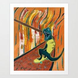 You Shred Raptors? Art Print