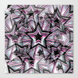 Super Stars Canvas Print