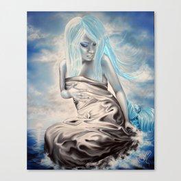 Satin Mermaid Canvas Print