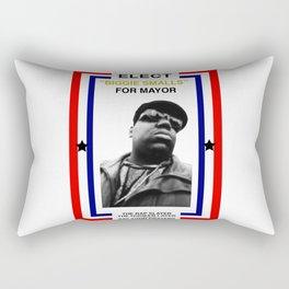 Biggie Smalls for Mayor Rectangular Pillow