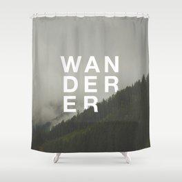 WANDERER V.2 Shower Curtain
