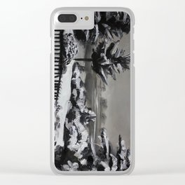 Winter, snow, nature Clear iPhone Case