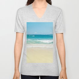 Beach Love Unisex V-Neck