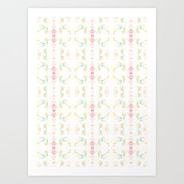 Pattern No. 1 Art Print