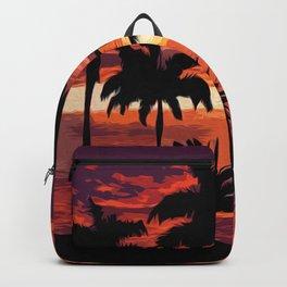 An hawaiian sunset Backpack