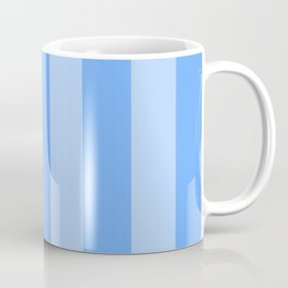 Sky Blue Stripes Coffee Mug