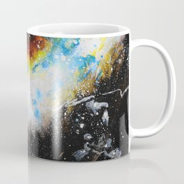 Golden Galaxy Coffee Mug