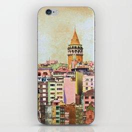 Istanbul city Turkey iPhone Skin
