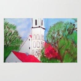Kirche von Ergolding Rug