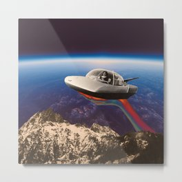 Sky mountain Metal Print