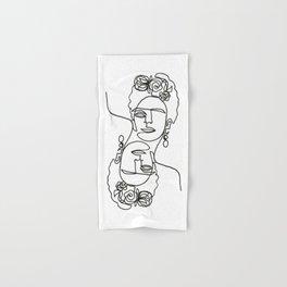 Frida Kahlo Double Hand & Bath Towel