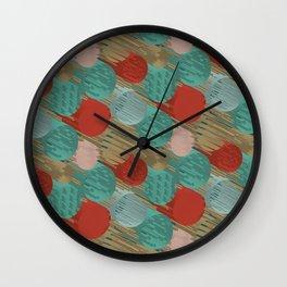 3D X 0.4 Wall Clock
