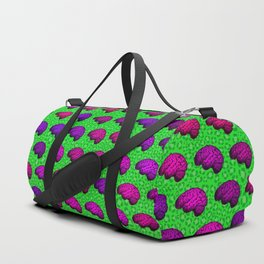 Brains And Leopard Print Duffle Bag