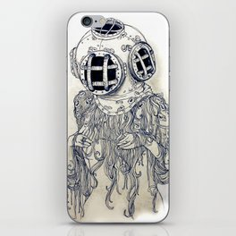 Ghost Diver iPhone Skin