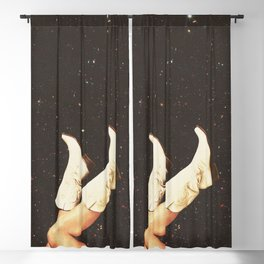 These Boots - Space Blackout Curtain