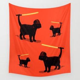 Cat Vader Wall Tapestry