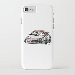 Crazy Car Art 0143 iPhone Case