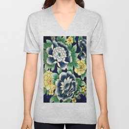 flowers and flowers Unisex V-Neck