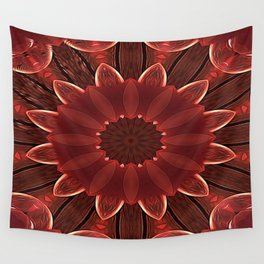 Root Flower Wall Tapestry