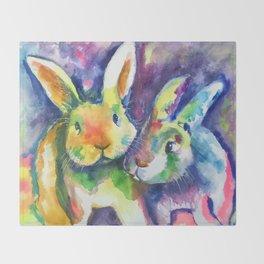 Bunny Pals Throw Blanket