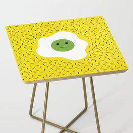 Eggs emoji Side Table