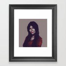 Marcy Framed Art Print