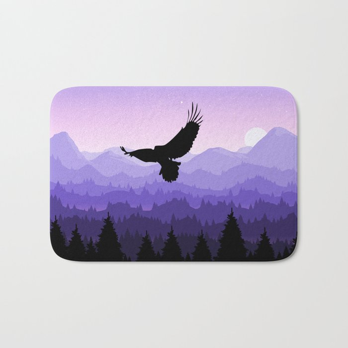 Eagle Skyline Bath Mat