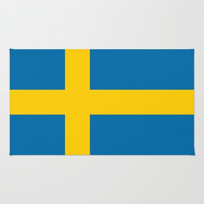 National flag of Sweden Rug