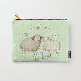 The Sheep Family Carry-All Pouch