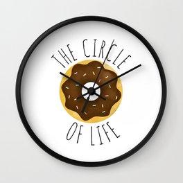 The Circle Of Life: Donuts Wall Clock