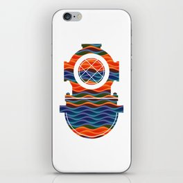 Scuba Collor iPhone Skin