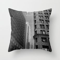 New York Building-1 Throw Pillow