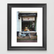 Bakery Window Framed Art Print